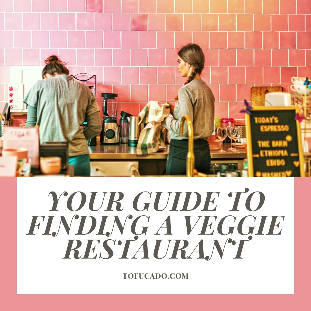 Guide to finding a veggie restaurant cover