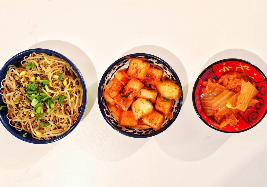 Three banchan