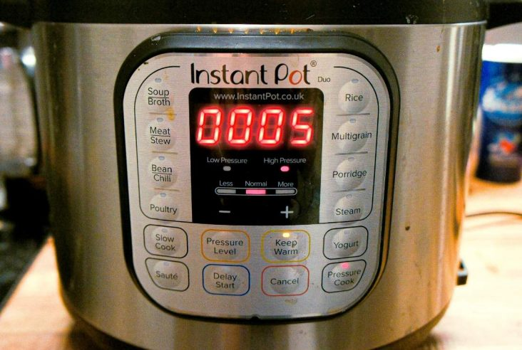 Close up of the Instant Pot