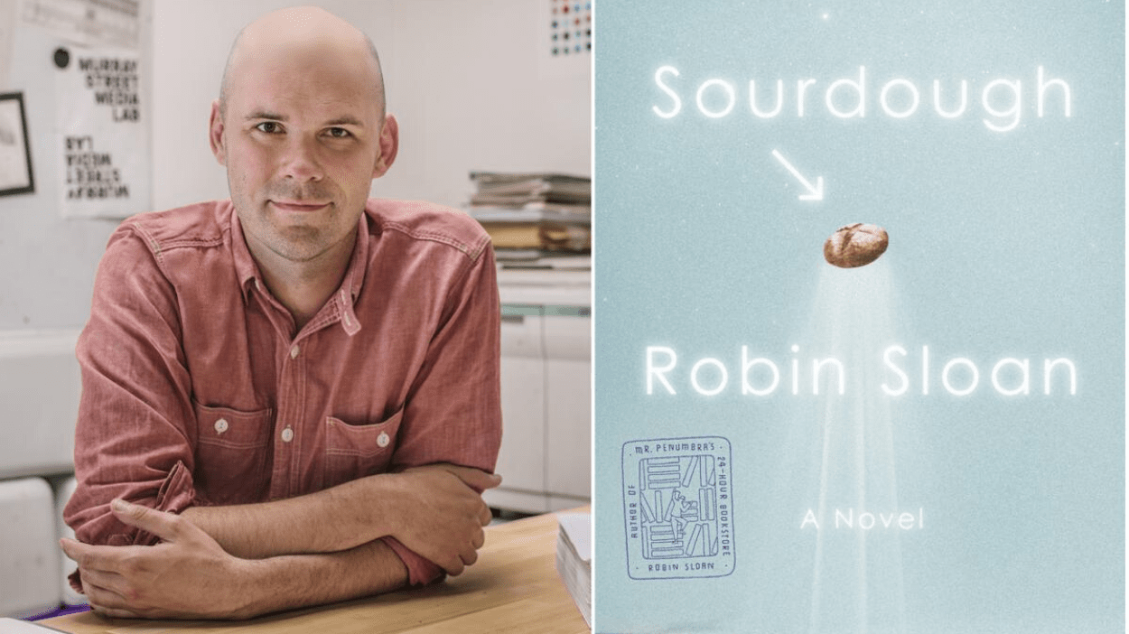 Robin Sloan, Sourdough | Bookshop Santa Cruz