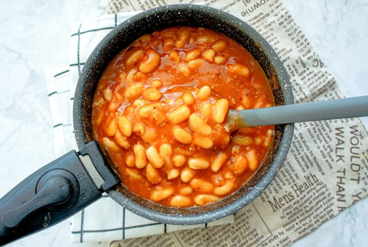 Instant Pot Baked beans featured