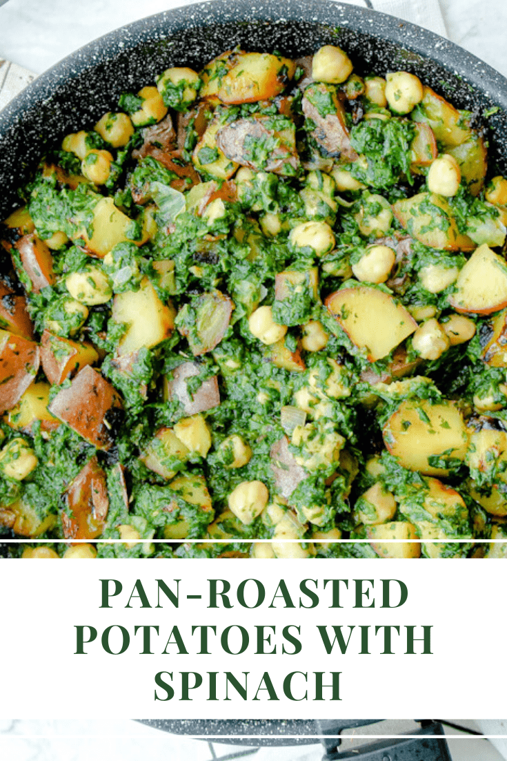Pan-roasted potatoes pin