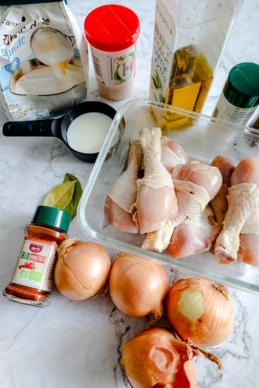 Ingredients chicken paprikash from dracula